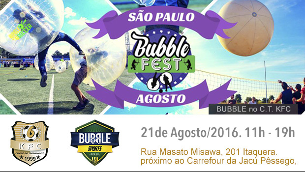 Bubble Fest no C. T. KFC. Rolou dia 21/08/2016
